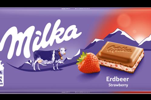 Milka Erdbeere (100g)