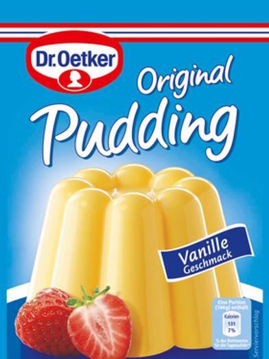 Dr. Oetker Vanille Pudding (110g)