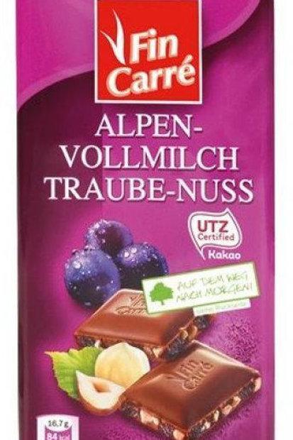 Fin Caree Traube-Nuss (100g)