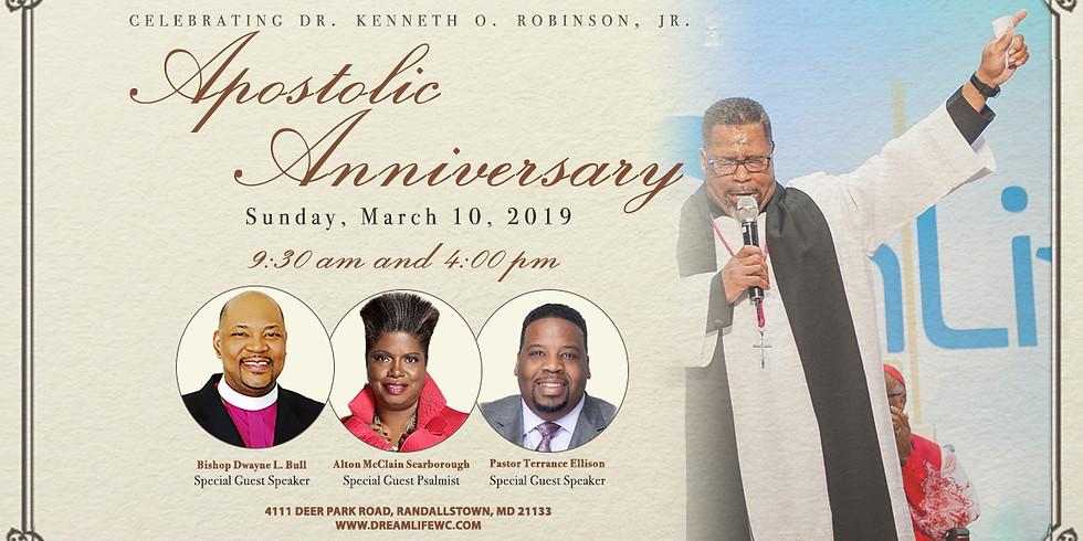 Apostle Anniversary Celebration