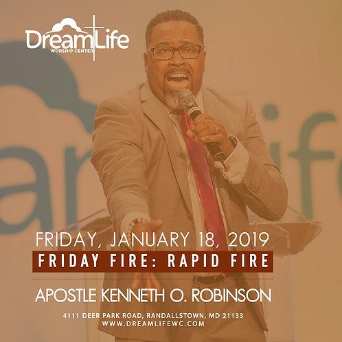 Friday Fire: Rapid Fire