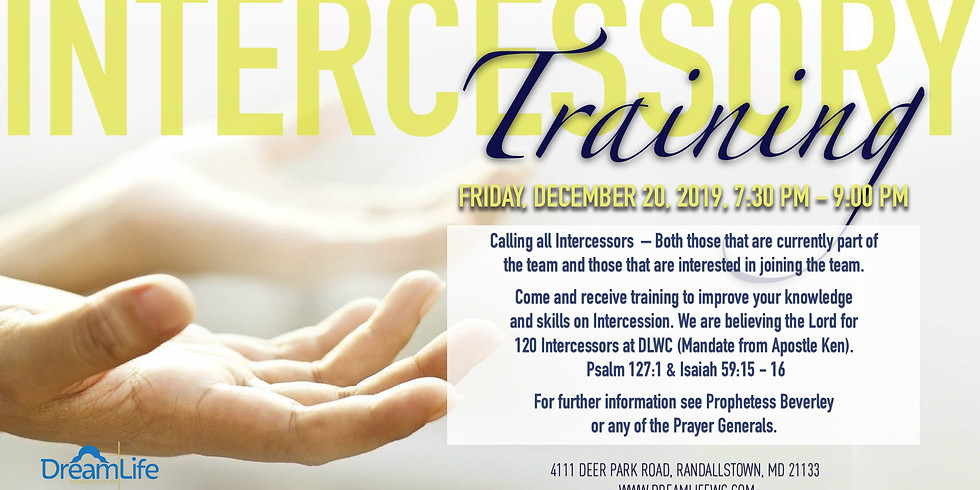 Intercessory Prayer Training