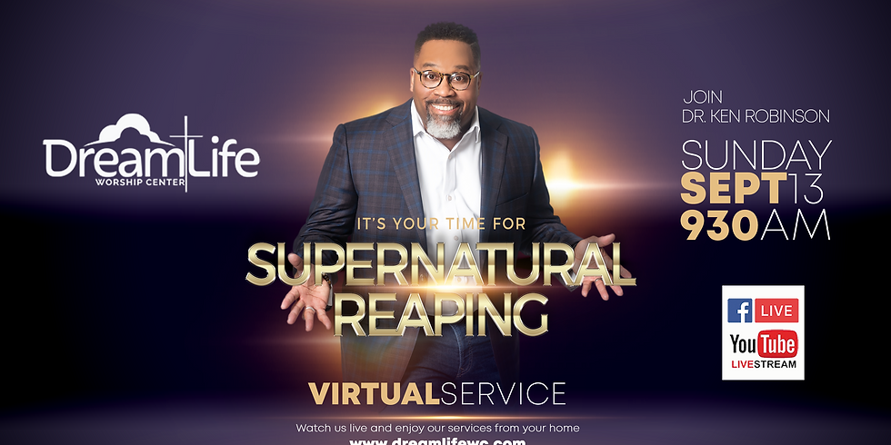 It's Your Time for Supernatural Reaping