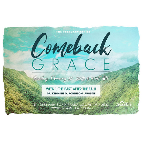 Comeback Grace: The Part After the Fall!