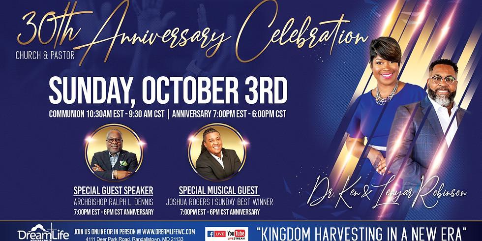 30th Pastoral & Church Anniversary
