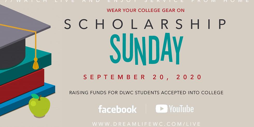 Scholarship Sunday