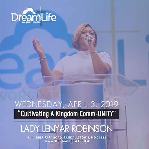 Cultivating A Kingdom Comm-UNITY