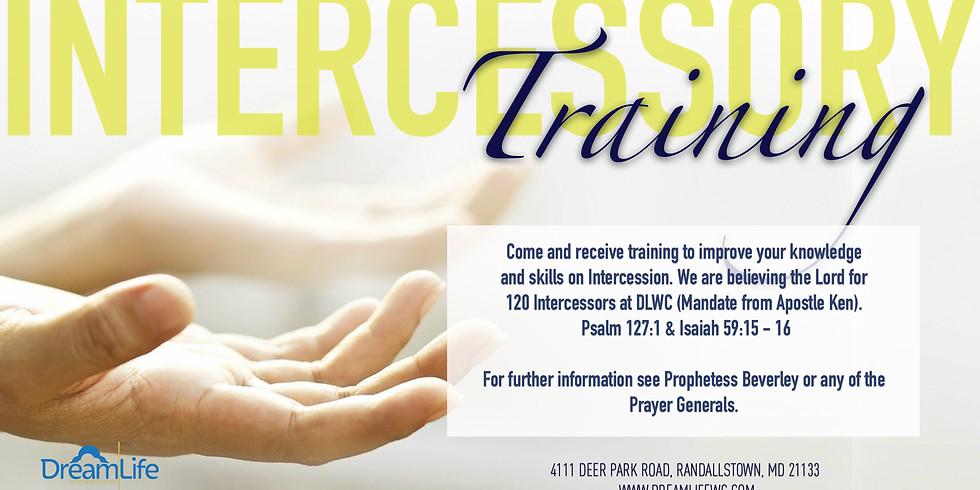 Intercessory Prayer Training - July
