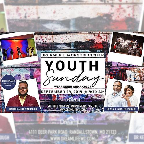 Youth Sunday - September 29, 2019