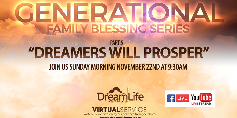 Generational Family Blessings Series: Part 5
