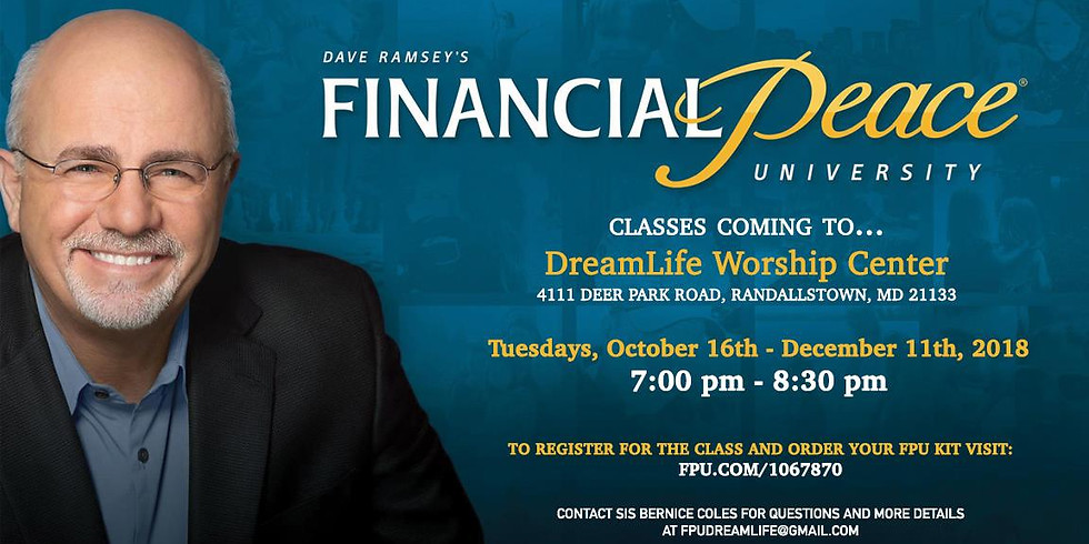 Dave Ramsey's Financial Peace University Classes