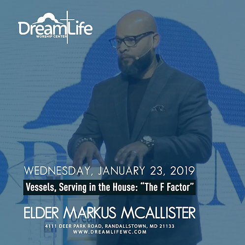 """Vessels, Serving in the House: """"The F Factor"""""""