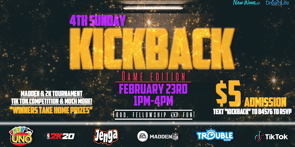 New Wave 4th Sunday Kickback