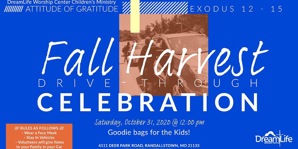 Fall Harvest Drive-Through Celebration