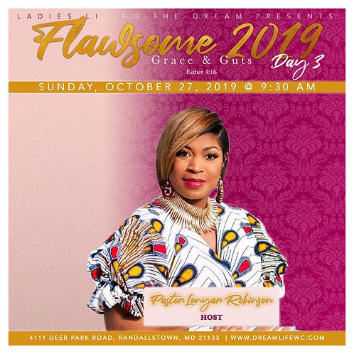 Flawsome 2019: Day 3 Sunday, October 27, 2019