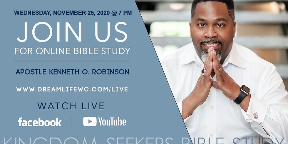 Online Kingdom Seekers Bible Study