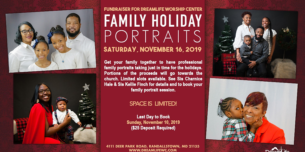 Family Holiday Portraits