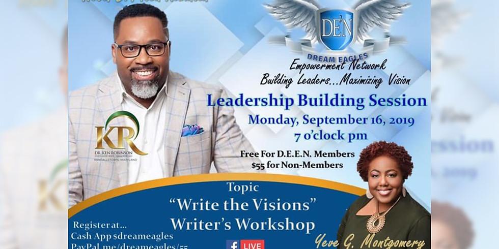D.E.E.N Leadership Building Session September