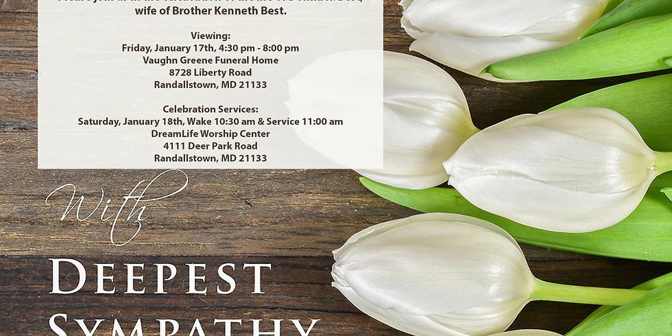 Life Celebration Service - Donna Best