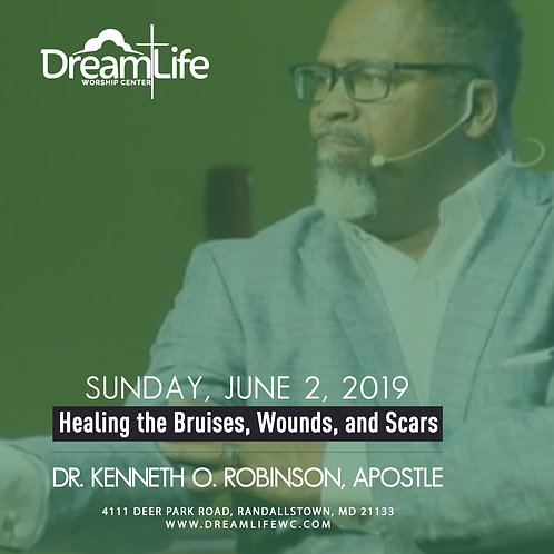 Healing the Bruises, Wounds, and Scars