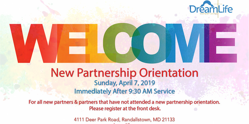 New Partnership Orientation