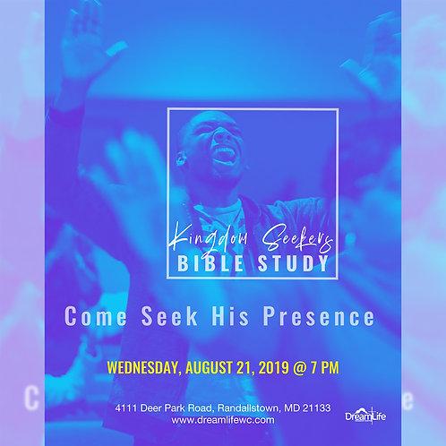 Wednesday, August 21, 2019