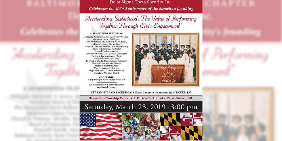 Delta Founders Day Celebration