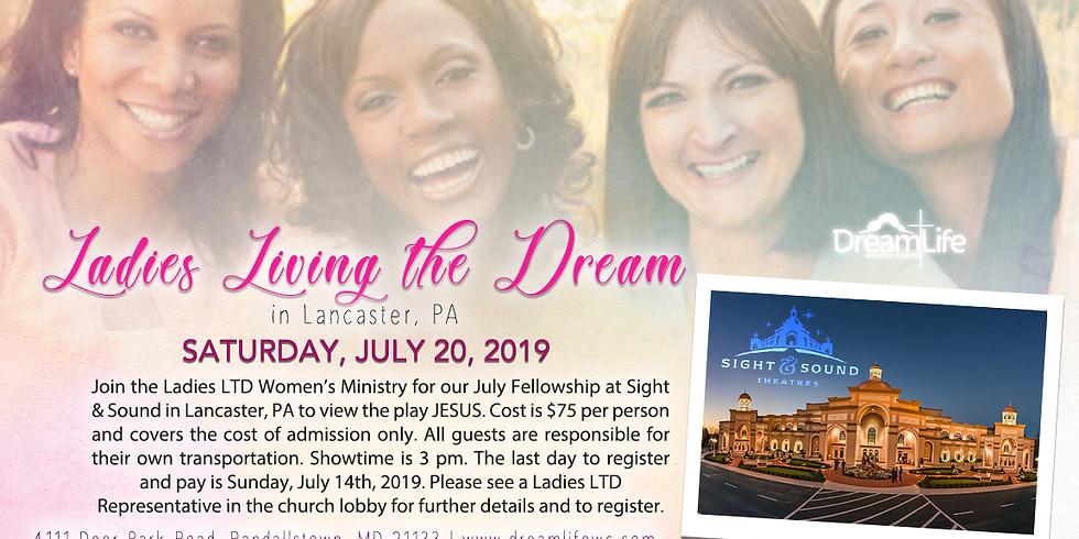 Ladies Living the Dream July Fellowship