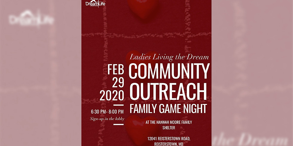Ladies LTD Community Outreach