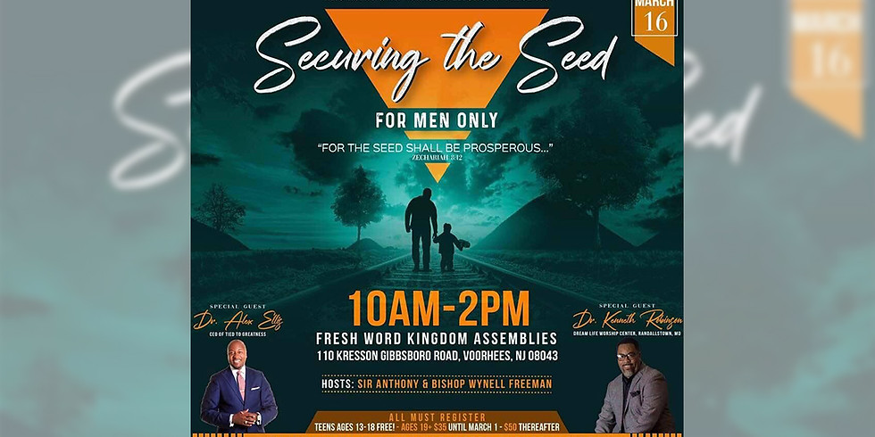Securing the Seed (For Men Only)