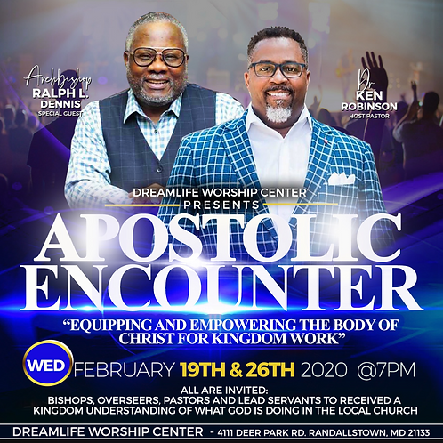 Apostolic Encounter: Night 1
