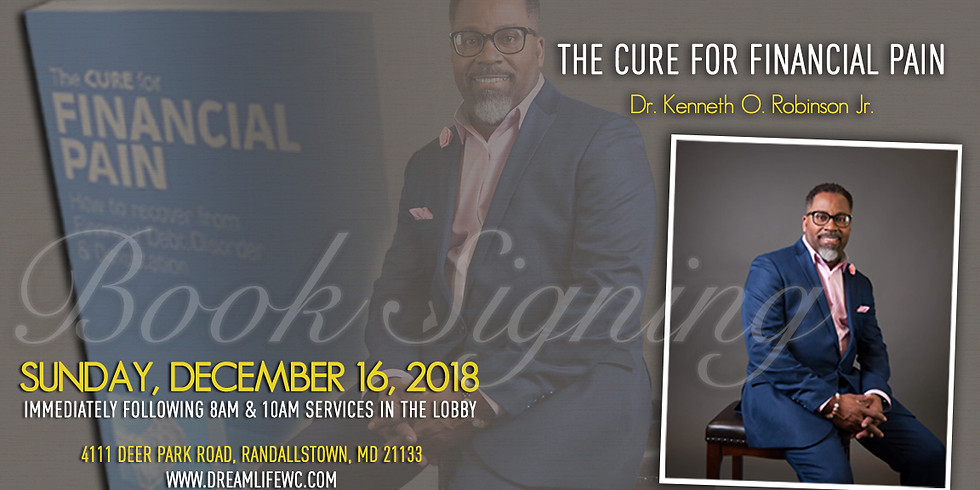 Book Signing with Dr. Kenneth O. Robinson Jr.