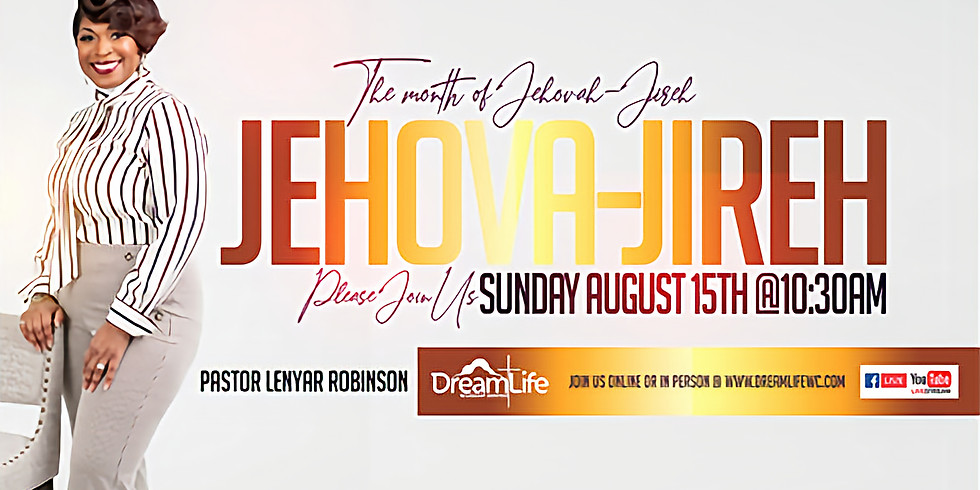 The Month of Jehovah Jireh