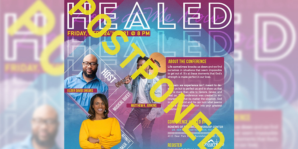 """ReNewd Virtual Conference """"HEALED"""""""
