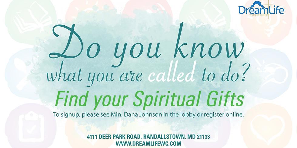 Spiritual Gifts Workshop - October