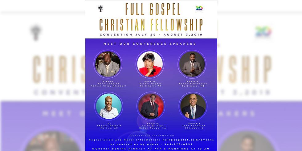 Full Gospel Christian Fellowship Convention