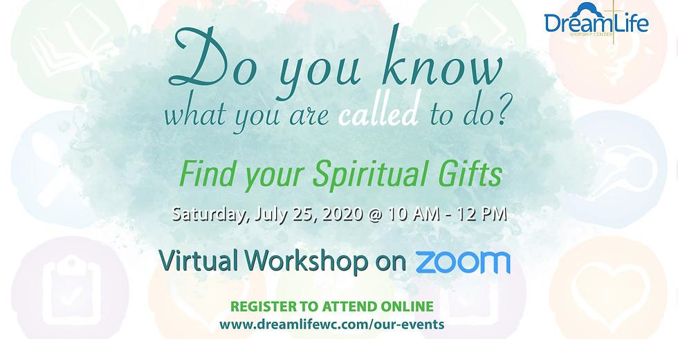 Spiritual Gifts Virtual Workshop