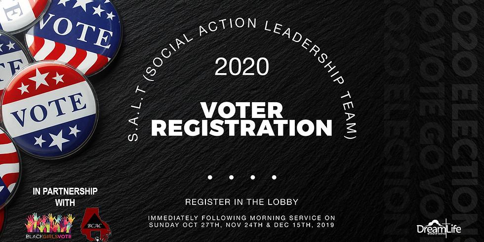 2020 Voter Registration