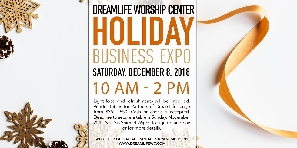 DreamLife Holiday Business Expo