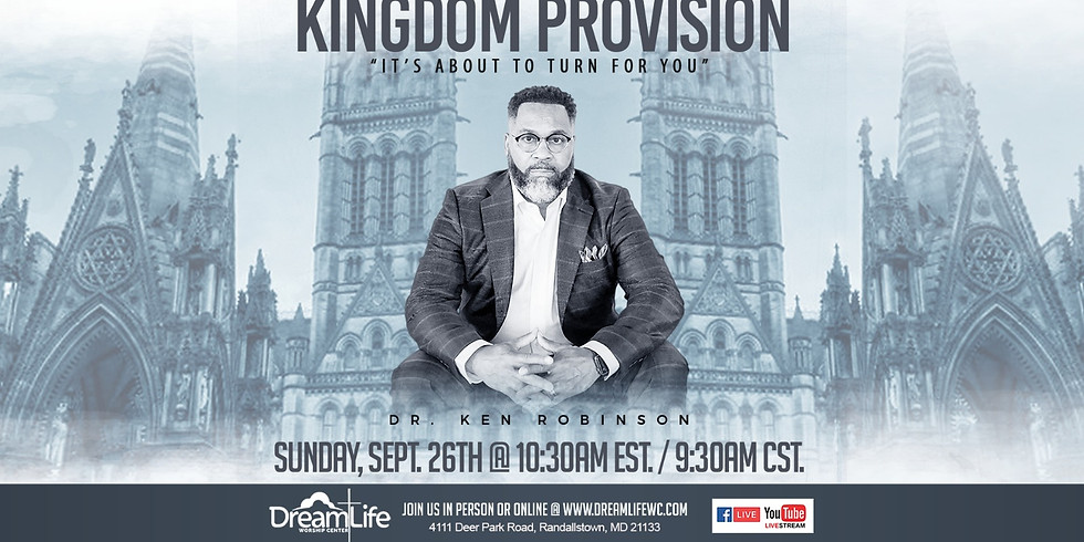Kingdom Provision: It's About To Turn for You