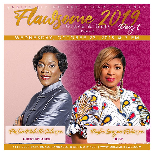 Flawsome 2019: Day 1 Wednesday, October 23, 2019