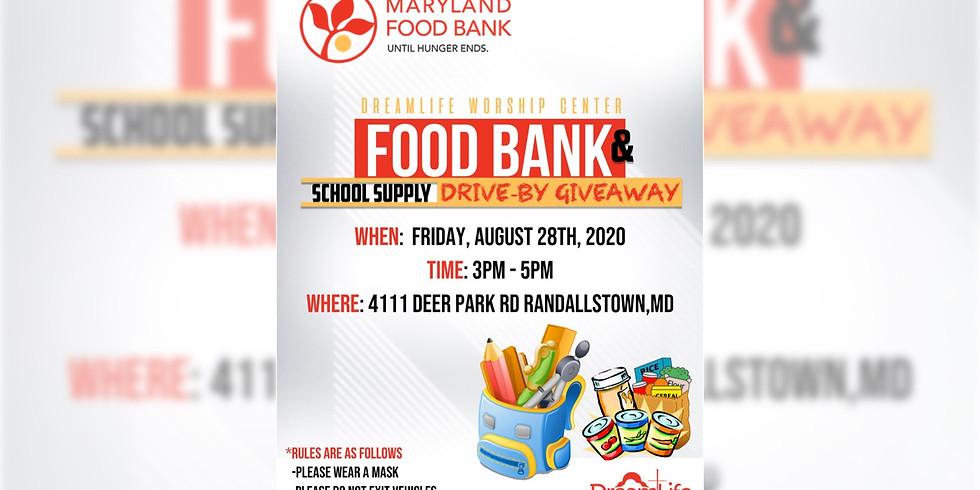 Food & School Supply Giveaway