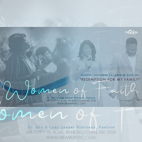 """Redemption For My Family"" Women of Faith"