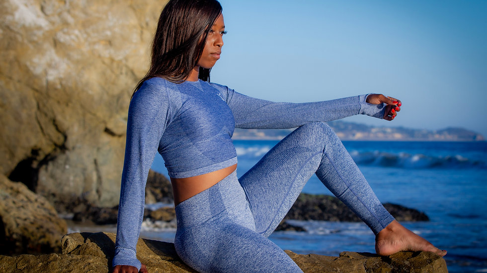MaliBlue Yoga Set