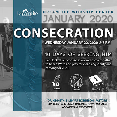 Consecration Service Night 1