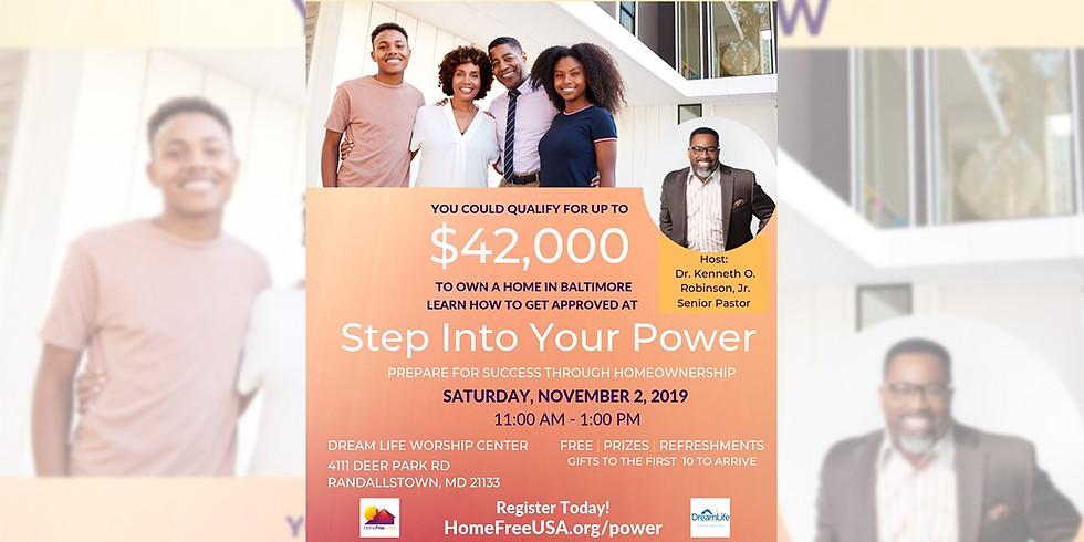 Home Free-USA: Step Into Your Power
