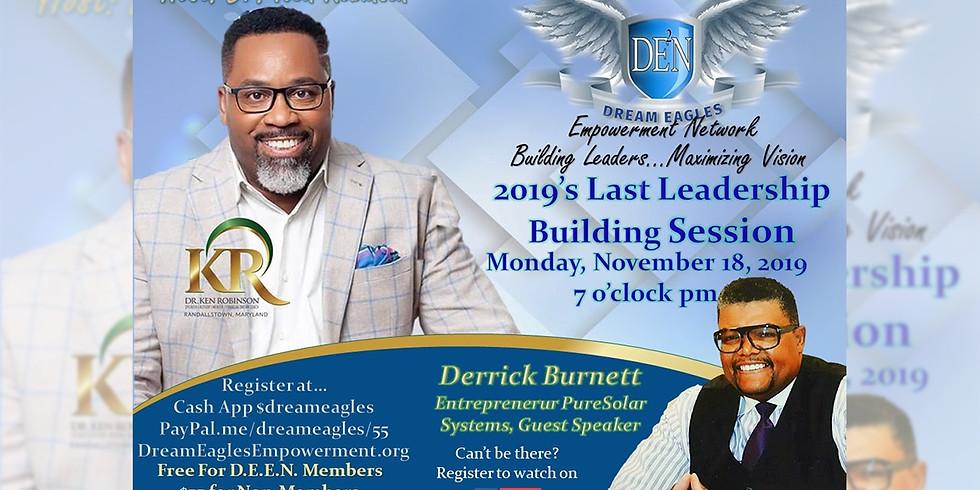 Leadership Building Session November