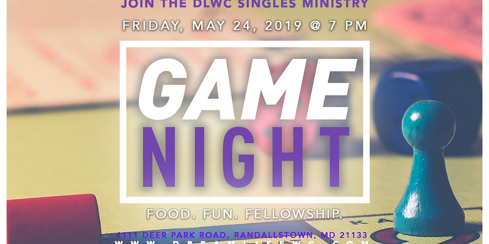 Singles Game Night