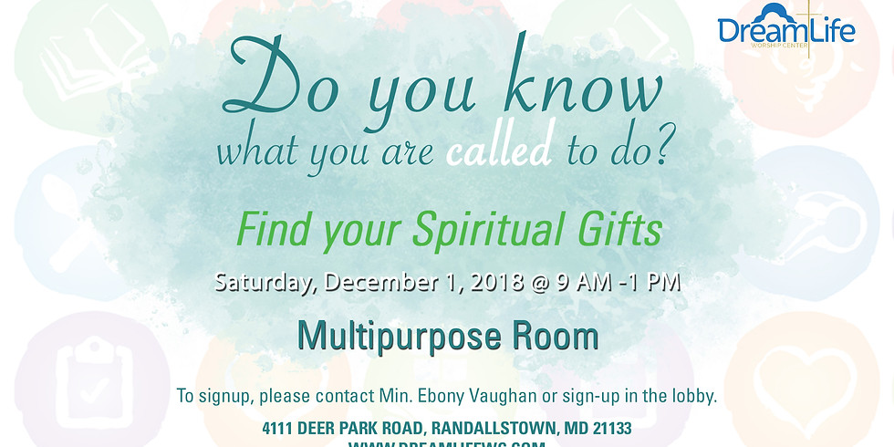 Spiritual Gifts Workship