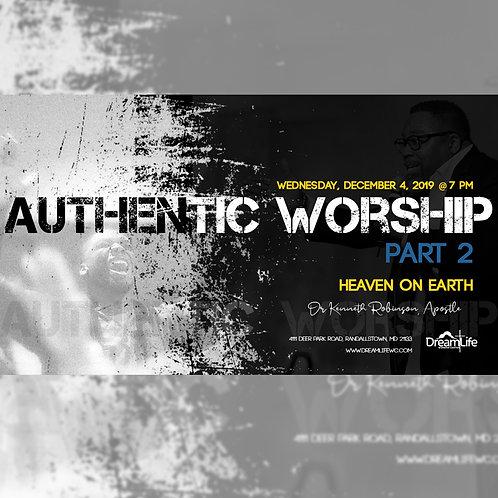 Authentic Worship: Part 2